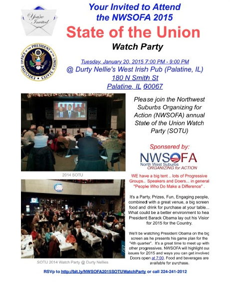 Join Us For The State Of The Union Watch Party!