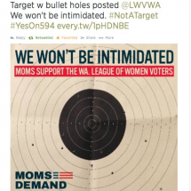 Moms Demand Won't Be A Target